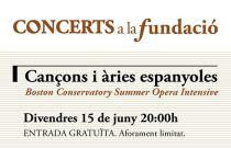 Cançons i àries espanyoles de la mà d'intèrprets procedents de nou països