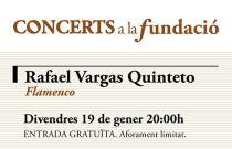 Fusión de flamenco y jazz en la próxima cita de Concerts a la Fundació