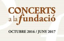 Fundación Bancaja ofrece un ciclo de conciertos gratuitos durante todo el año
