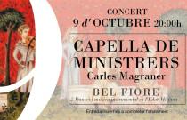 Fundación Bancaja ofrece un concierto de Capella de Ministrers con motivo de la celebración del 9 d'Octubre