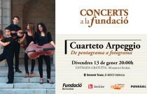 El Cuarteto Arpeggio protagoniza el próximo concierto del ciclo Concerts a la Fundació
