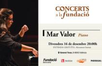 La joven pianista Mar Valor protagoniza el próximo concierto del ciclo Concerts a la Fundació