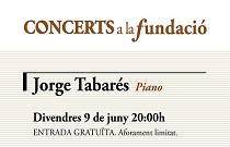Fundación Bancaja cierra el ciclo Concerts a la Fundació con la actuación del pianista valenciano Jorge Tabarés