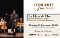 La fusión entre música clásica y flamenco protagoniza el próximo concierto de Concerts a la Fundació
