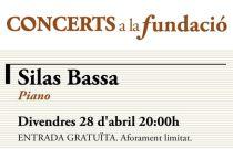 El pianista argentino Silas Bassa, protagonista del próximo Concert a la Fundació