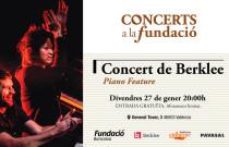 Jazz y música brasileña en la próxima actuación de Concerts a la Fundació