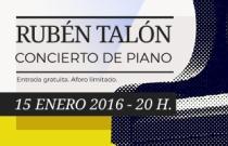 Concierto de piano. Rubén Talón