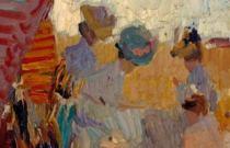 Pintura de Entresiglos en la Colección Bancaja (1850-1950) en Gandía