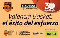 Exposición Valencia Basket: el éxito del esfuerzo