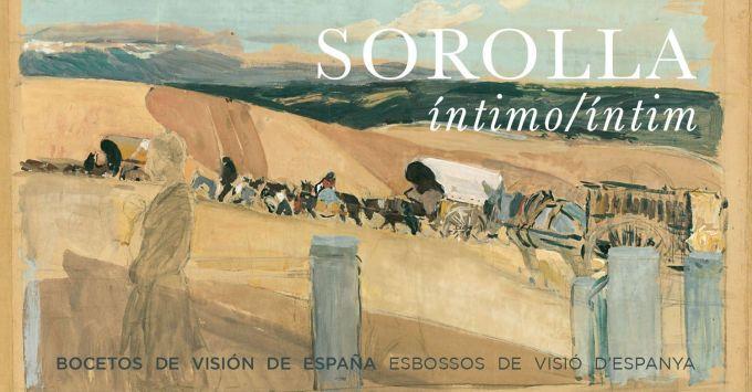 'Sorolla íntimo. Bocetos de Visión de España', en el Museo de Bellas Artes de Castellón
