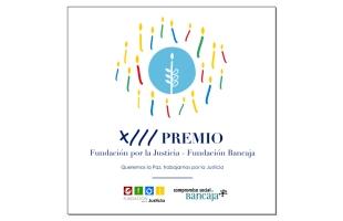 Abierta la convocatoria del XIII Premio Fundación por la Justicia-Fundación Bancaja