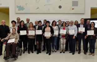 Fundación Bancaja y Bankia entregan las ayudas de la 3ª Convocatoria CAPACES