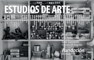 Fundación Bancaja presenta en Segorbe la exposición Estudios de arte
