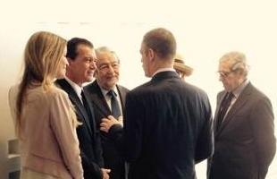 El presidente de Fundación Bancaja en el Centro Pompidou y el Museo Carmen Thyssen de Málaga