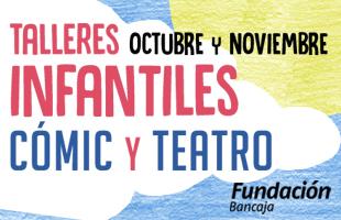 Talleres infantiles de cómic y teatro en octubre y noviembre