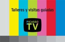 """Talleres de arte: ActivArte, ApropiArte y MotivArte. Exposición """"Picasso TV"""""""