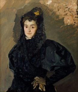 Retrato de Enriqueta García de Moscardó