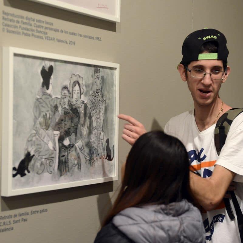 Picasso. Retrato de Familia