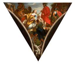 Pechinas de la colegiata de Xàtiva: Miriam, hermana de Moisés y Aarón (la profetisa Miriam)