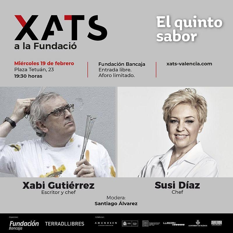 Xats a la Fundació: Susi Díaz y Xabi Gutiérrez. El quinto sabor