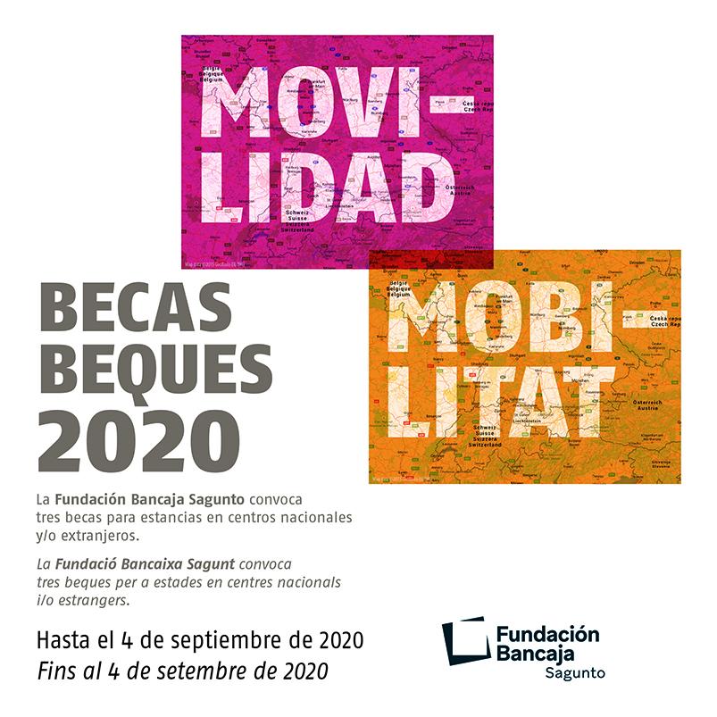 Becas de Movilidad Sagunto 2020