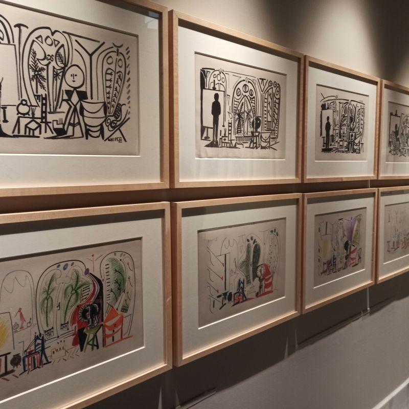 Picasso. El taller de La Californie