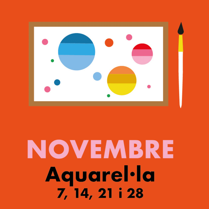 Acuarela: Constelaciones de colores