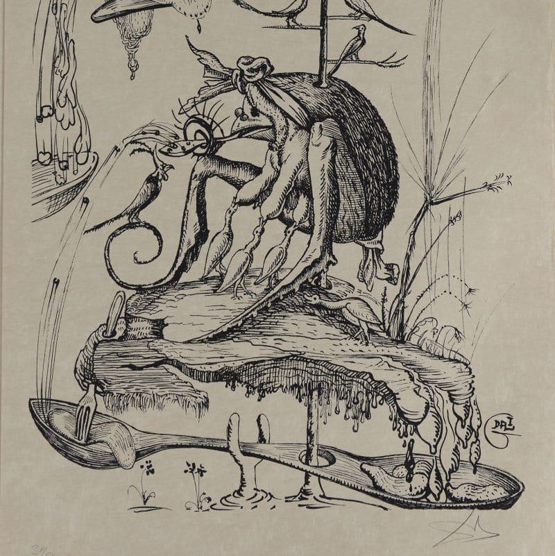 Dalí. Litografías de los Excesos Pantagruélicos