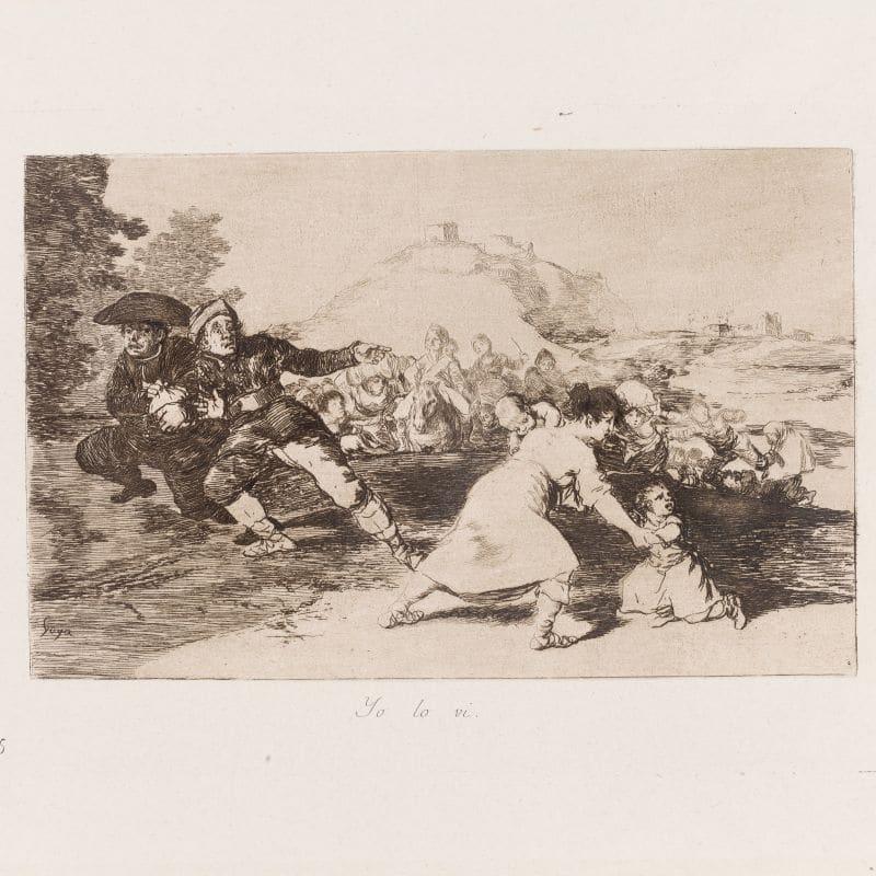 Goya en la mirada de Picasso