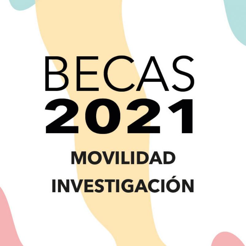 31a Beques de Mobilitat i Ajudes a la Investigació Sogorb 2021