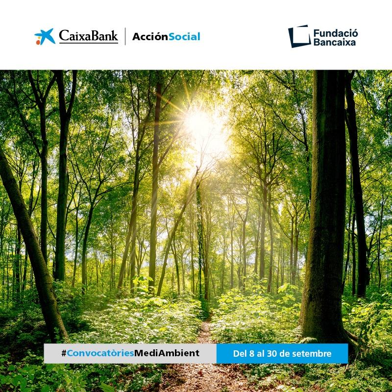 III Convocatòria Mediambiental Fundació Bancaixa – CaixaBank