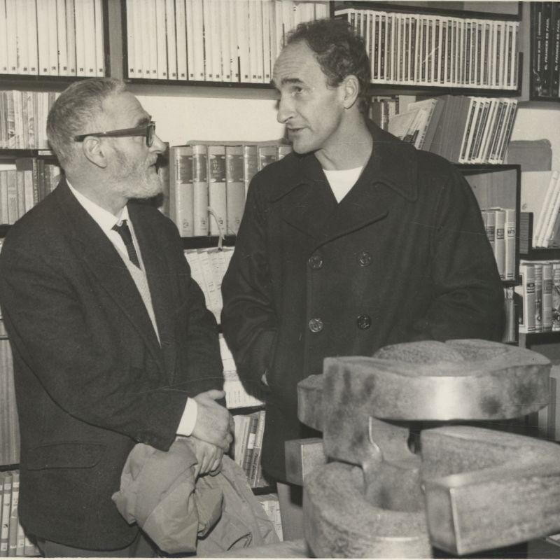 Jorge Oteiza y Eduardo Chillida. Diálogo en los años 50 y 60